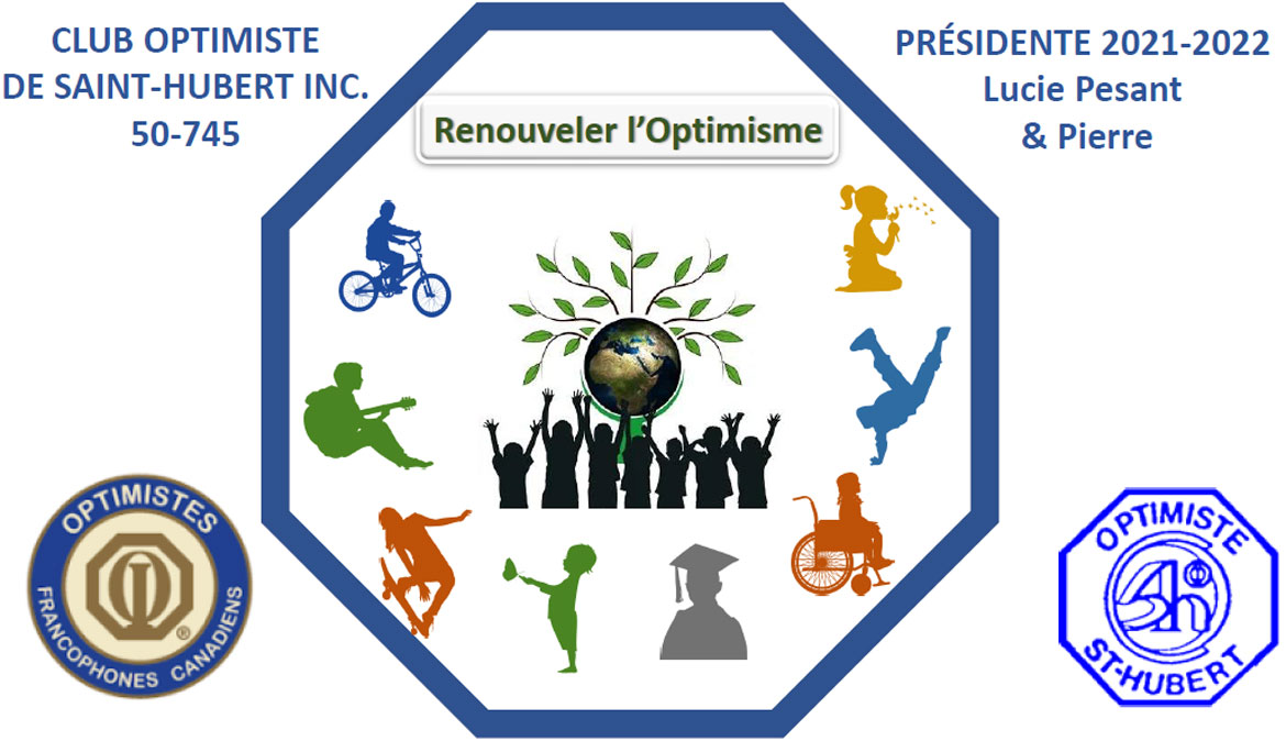 Logo 2019 club optimiste de saint-hubert